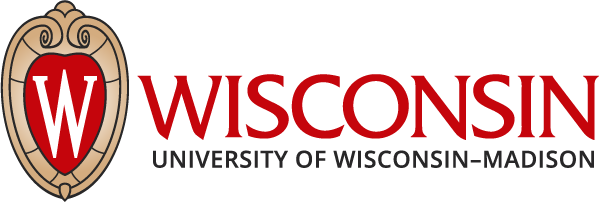 University of Wisconsin Madison with UW crest